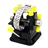 10L0L Universal Mini Drill Press Vise Clamp for DIY Craft Jewelry Woodworking Carving Model Making Repair Table Bench, Watch Case Remover Holder Base