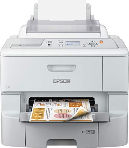 Epson WorkForce Pro WF-6090DW (220V) Multifunktionsgerät (Drucker, scanner, kopieren, Fax, 4800 x 1200 dpi, WiFi und USB) weiß