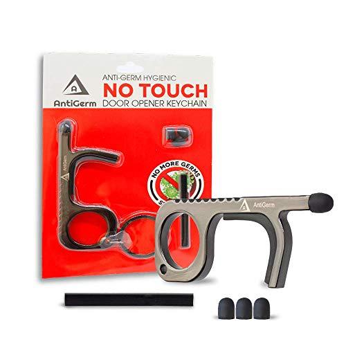 Anti Germ Hygienic No Touch Door Opener Hands Free Tools Non-Contact Portable Door Opener Tool Clean...