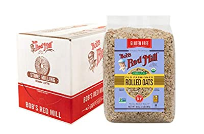 Bob's Red Mill Gluten Free Organic Old Fashioned Rolled Oats