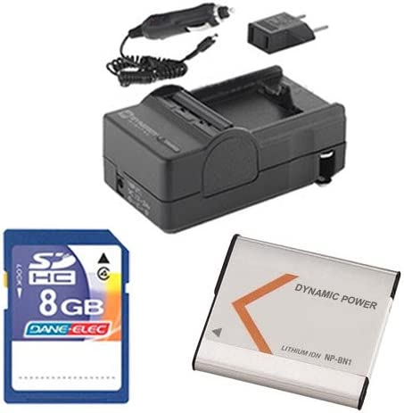 Sony DSC-W830 Max 67% OFF Digital Spring new work one after another Camera Accessory KSD48GB Includes: Kit Mem