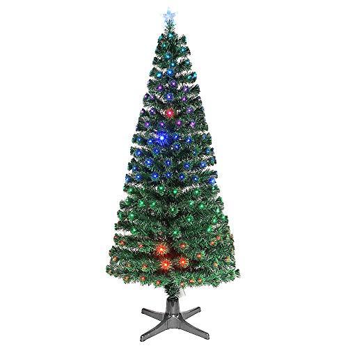 BEM   Künstlicher Weihnachtsbaum   künstliche Weihnachtsbäume   Tannenbaum künstlich   Weihnachtsdeko   180cm   künstlicher Weihnachtsbaum mit Beleuchtung   Deko   LED Baum   LED Weihnachtsbaum