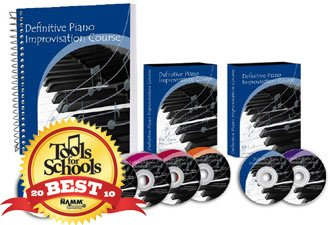 Definitive Piano Improvisation DVD Lessons (6 Dvds, 2 Cds, 1 Book) (Home Study Course)
