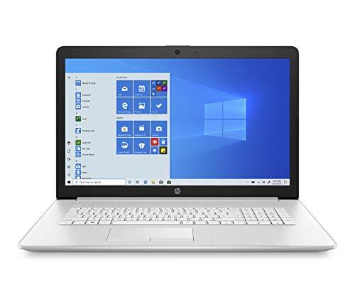 HP - PC 17-by3000sl Notebook PC, Intel Core i7-1065G7, RAM 8GB, SSD 512GB, Nvidia GeForce MX330 2GB, Windows 10 Home, Schermo 17.3 FHD IPS, DVD-RW, Webcam, USB, HDMI, RJ-45, Argento