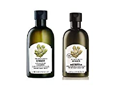 The Body Shop Ginger Anti Dandruff Shampoo & Conditioner 400ml each itchy flaky anti-dandruff