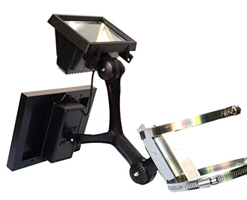 Valley Forge Flag CSFPL-8 Commercial LED Solar Flagpole Light, 0