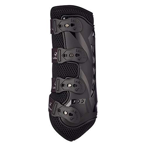 LeMieux Unisex-Erwachsene Snug Boot Pro Black Front Stiefel, Schwarz, L