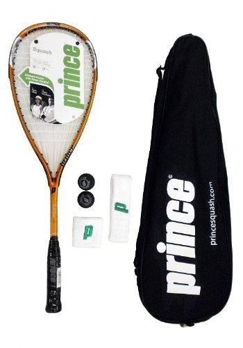 Prince TF Tour - Juego de Raquetas de Squash con Pelotas de Squash y Bandas para el Sudor