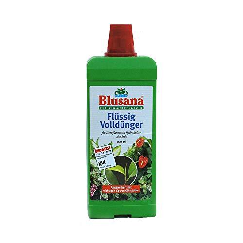 Flüssigdünger für Hydroplanzen + Erdpflanzen Blusana von Leni 1000 ml