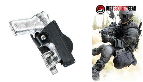 Fobus Negro paleta Mano Derecha RH Pistolera para Glock 17,