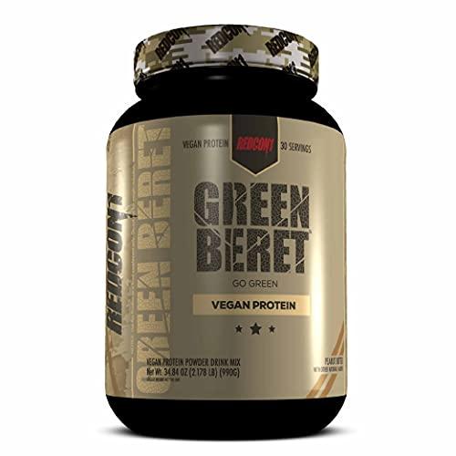 Redcon1 - Green Beret - Vegan Protein - No Artificial Flavors, 20G Protein, 0G Sugar