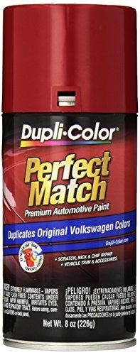 Dupli-Color EBVW20377 Tornado Red Volkswagen Perfect Match Automotive Paint - 8 oz. Aerosol