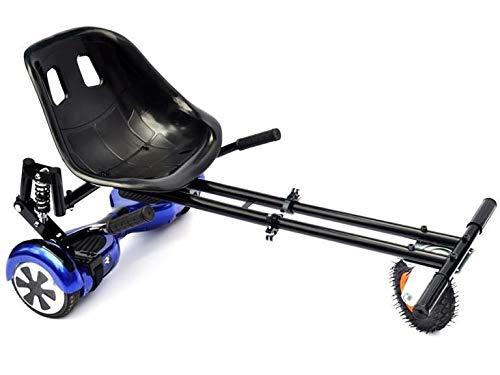 Drifter-X SWEGWAY Hoverkart-Sitz – Hoverboard-Sitz mit Federung, geeignet für alle Swegway Hoverboards (schwarz)