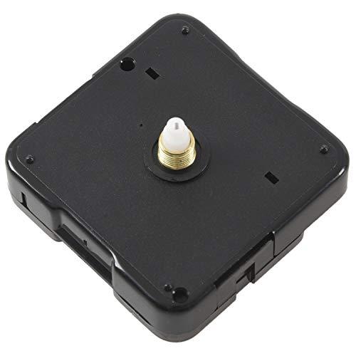 Kirmax Maquinaria Mecanismo Reloj Agujas Manualidad de Artesania AA Negro