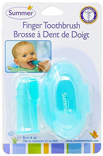 Summer Infant 1614414 Cepillo Dental de Silicón con Estuche de Viaje