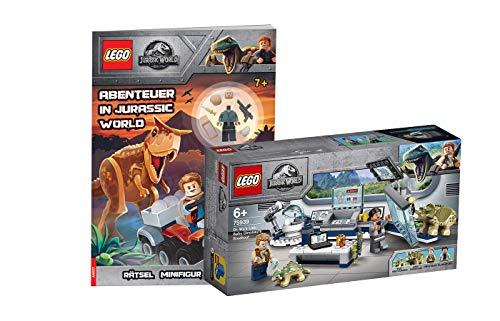 Collectix Lego Jurassic World 75939 Dr. WUS Labor: Crecimiento de los dinosaurios bebé + aventuras en Jurassic World (tapa blanda)