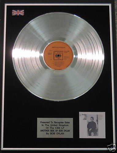 Bob Dylan - Platinum LP Disc- Another Side Of Bob Dylan