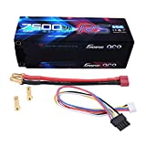 Gens ace 7500mAh 4S1P HardCase 100C 15.2V Lipo Battery Pack #50 for RC Cars Racing Series