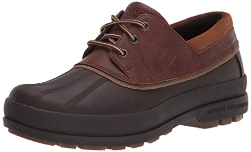 Sperry Men's Cold Bay 3-Eye Snow Boot, Brown/Tan, 12 Wide