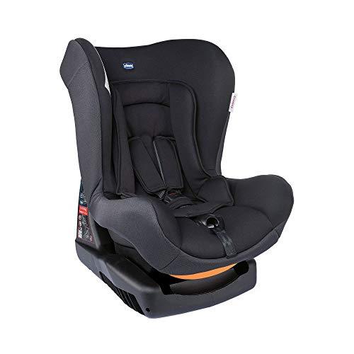 Chicco Cosmos Auto Kindersitz 0-18 kg, Gruppe 0+/1 für Kinder von 0-4 Jahren, mit Sitzverkleinerer, Weiche Polsterung, Schwarz