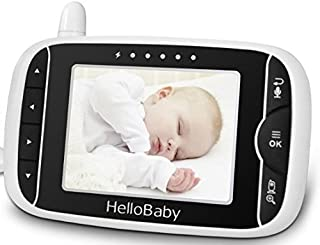 HelloBaby HB32RX Wireless Video Baby Monitor Parent Unit White