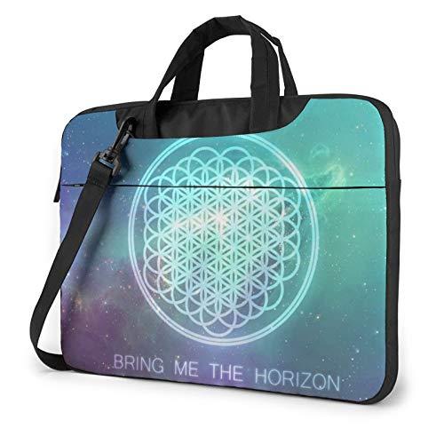 Br_Ing M_E Th_E Ho_Rizon Se_Mpiterna Llaptop Bag 15.6 Inch Briefcase Shoulder Bag Satchel Tablet Bussiness Carrying Handbag Laptop Sleeve