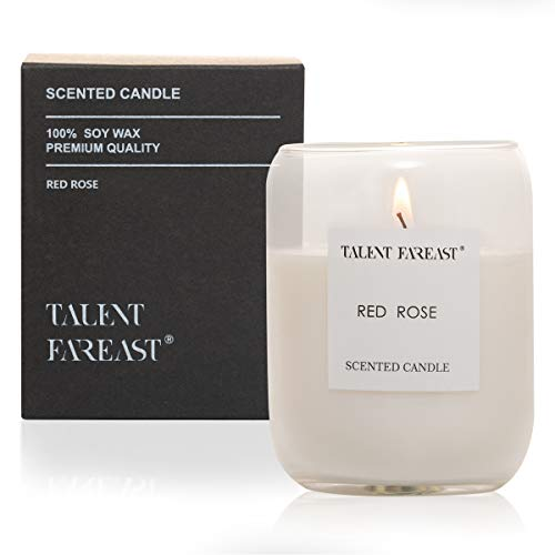 TALENT FAREAST Rich Scented Candle for Home Aromatherapy Candles Gift Soy Wax Relaxing