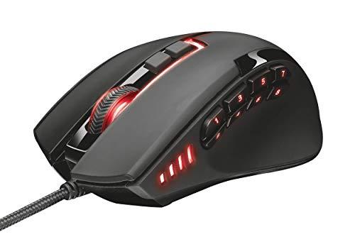 Trust Gaming GXT 164 Sikanda Mouse da Gioco, Nero