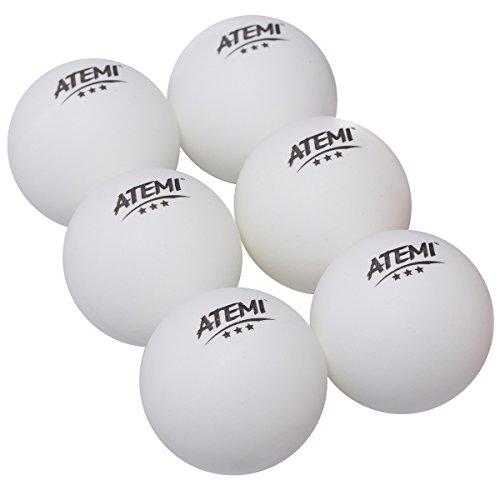 Atemi - Pelotas de Ping Pong de 3 Estrellas Profesionales Reglamentarias de...