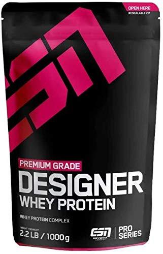 ESN Designer Whey Protein, 1000 g Beutel (Hazelnut, Karton (30 Stück))