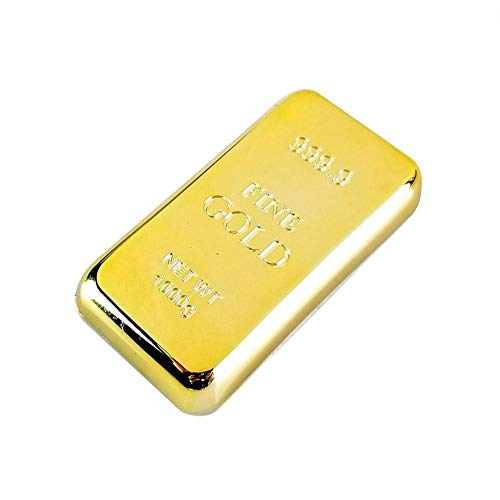 Corkscrews Bottle Openers - Gold Bar Bottle Opener &amp Magnet Gold Bullion Fridge Beer Bar Kitchen...