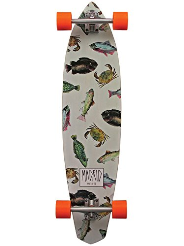 MADRID 817956018344 Dude Longboard 38.75' Maxed Complete, 817956018344