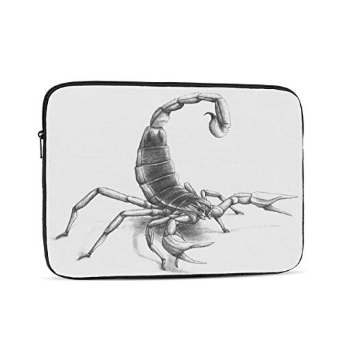 Scorpion Painting Laptop Sleeve 13 inch, Shock Resistant Notebook Briefcase, Computer Protective Bag, Tablet Carrying Case for MacBook Pro/MacBook Air/Asus/Dell/Lenovo/Hp/Samsung/Sony