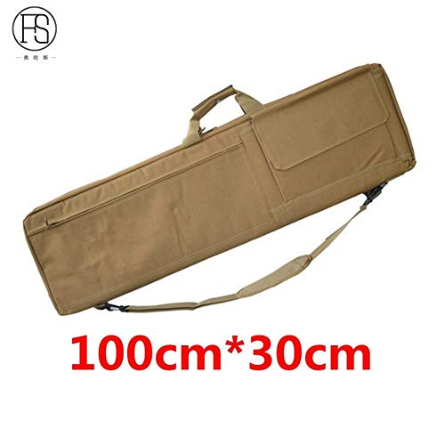 Read About Vioaplem Nylon Tactical Gun Bag Sniper Rifle Gun Case Airsoft Holster Shooting Hunting Ac...