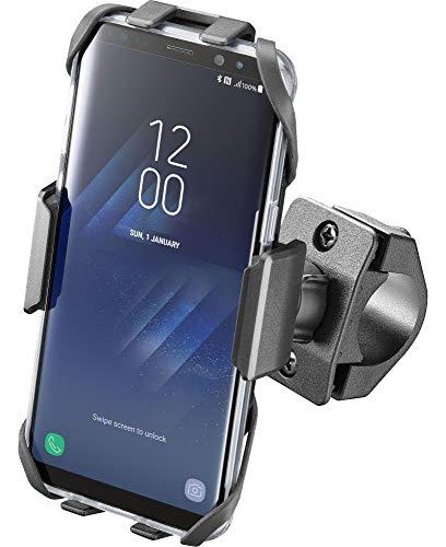 Cellularline - Cover Moto Crab per smartphone con supporto