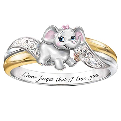 Fashion Owl Ring Animal Women Wedding Engagement Party Jewelry Size 6-10, Rings, Jewelry & Watches (B)