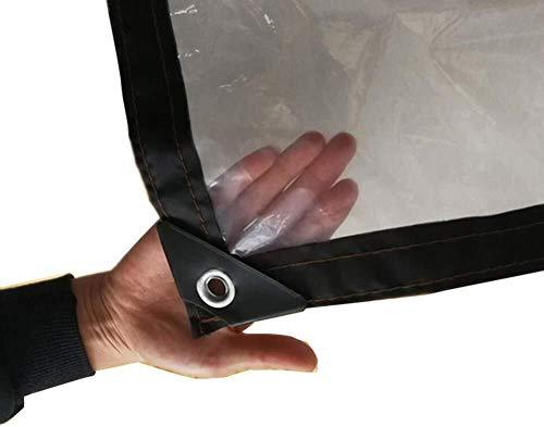 Dekzeil, transparant dekzeil, waterdicht dekzeil, winddicht kunststof, balkondoek (afmeting: 3x3m), afmeting: 2x8m 2x1m