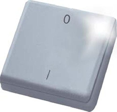 Eltako ELTA Funk-Minihandsender Schlüsselring Funksensor Mini-Handsender, 1 Stück, reinweiß, FMH2S-RW
