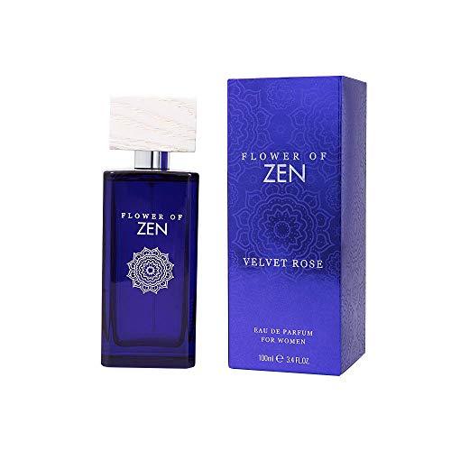 Flower Of Zen - Eau de parfum Velvet Rose en spray, 100 ml