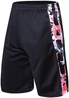 BEESCLOVER New Summer Basketball Shorts Men Sport Knee Length Elastic Waist Pocket Feminino Gym Running Short Trouser Male Plus Size
