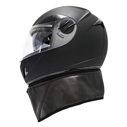 Blesiya Seguridad Flip Up Casco de Motocicleta Scooter Racing Sports Moto Casco - S