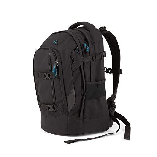 Satch pack Schulrucksack - ergonomisch, 30 Liter, Organisationstalent - Black Bounce - Black