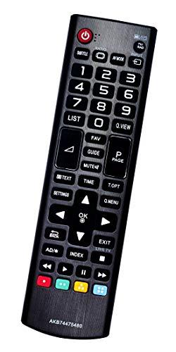 ALLIMITY AKB74475480 Reemplazo de Mando a Distancia para LG TV 32LH500D-ZA 32LH501C 43LH501C 65UF675V 32LH500D 43LH500T...