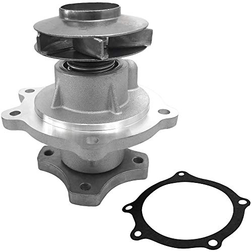 BOXI Water Pump w/Gasket replacementfor 04-07 Buick Rainier/replacementfor 04-12 Chevy Colorado/replacementfor 02-09 Chevy Trailblazer GMC Envoy/replacementfor 04-12 GMC Canyon 252-822 89036357