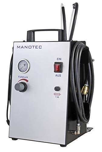 MANOTEC Bremsenentlüftungsgerät Bremsen Entlüftungsgerät Bremsenentlüfter Alpha 5 Satz