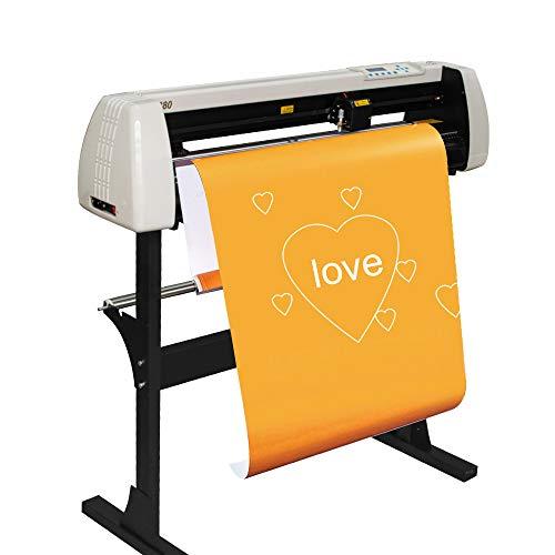 Carejoy 28 Inch Plotter Machine& 720mm Paper Feed Vinyl Cutter & Plotter Sign Cutting Plotter...
