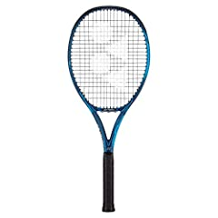 The Yonex EZONE 98 deep blue tennis racquet is for intermediate to advanced players looking to dominate with controllable power and comfort