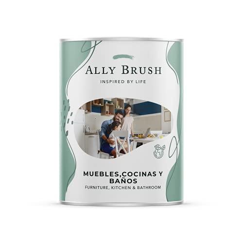 Ally Brush Esmalte Muebles, Cocinas y Baños (Azulejos) 0,75L y 3L Blanca satinada