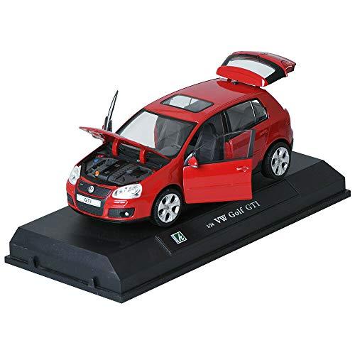 Cararama 1:24 VW Golf GTI Red Children Mini Car Toy