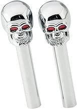Skull Skulls Door Lock Knobs 2-pc Set